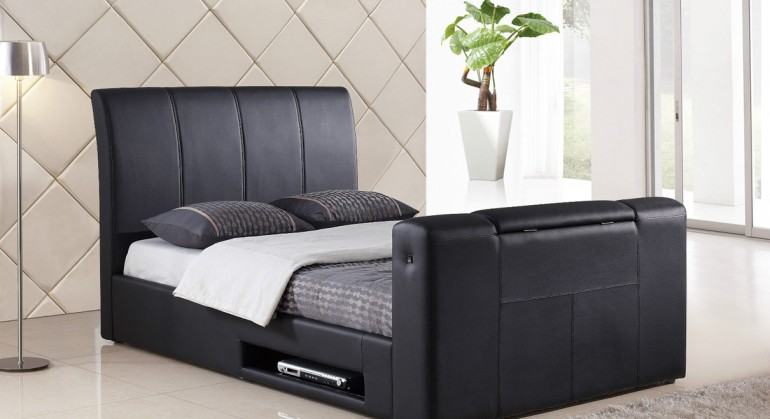 Harmony Beds Alexandria TV Bed 4FT 6 Double - TV-Bed.co.uk