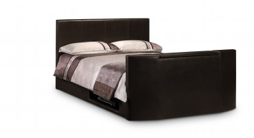 The Julian Bowen Optika TV Bed In Dark Brown