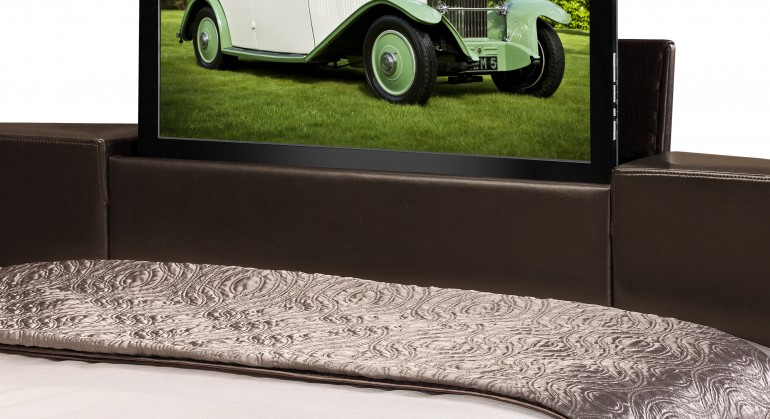 The Julian Bowen Optika TV Bed with a 26