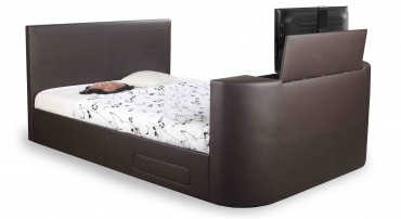 The Sophia TV Bed in Brown